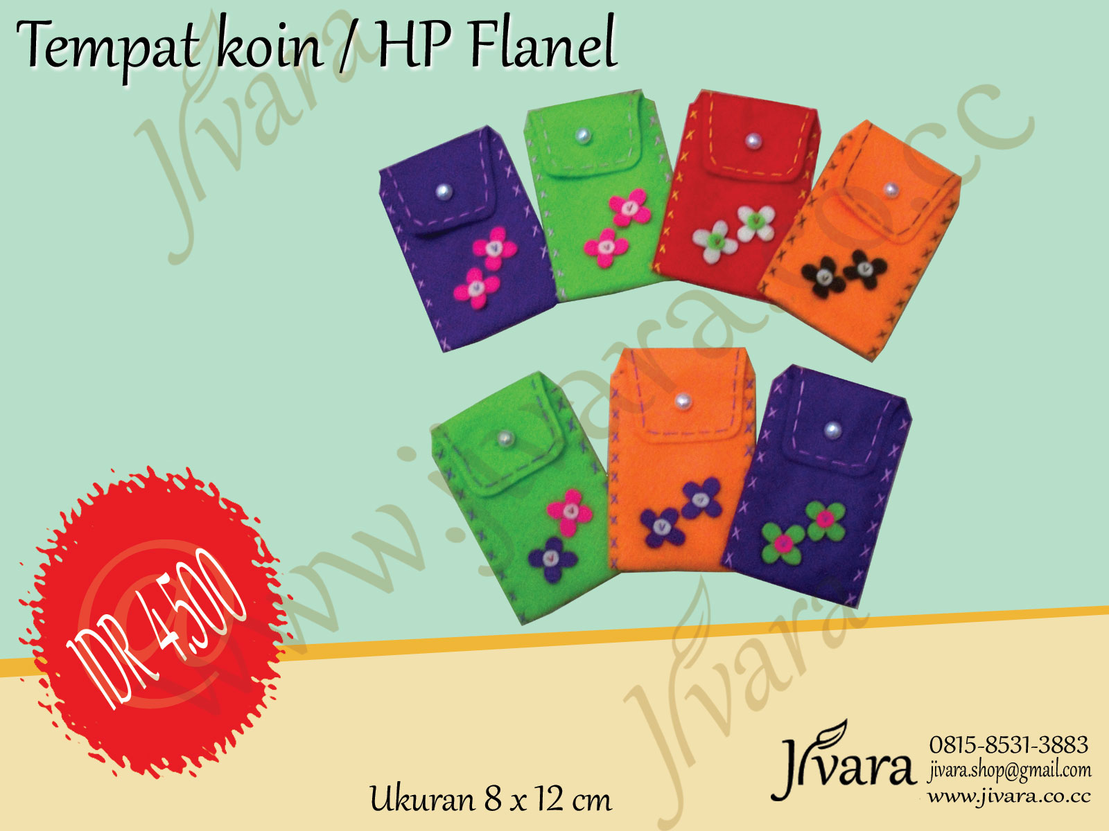... / felt yang dibuat tangan (hand made) khusus untuk anda dari JIVARA